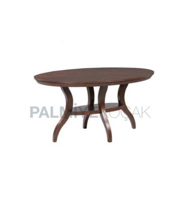 Wooden Antique Painted Shelf Avangard Table