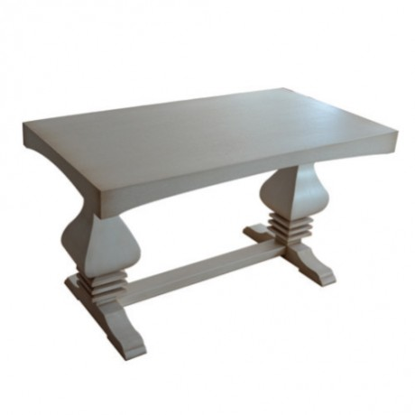 Wooden Pyramid Leg Avantgard Table - avg3014