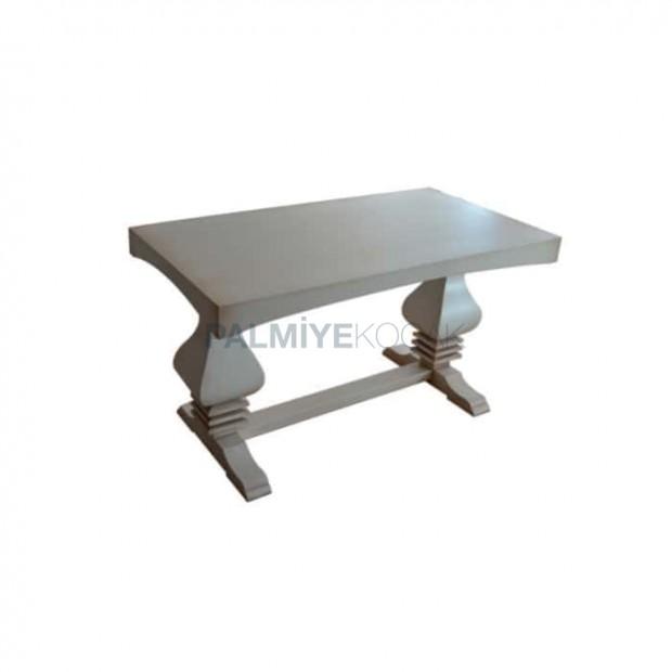 Wooden Pyramid Leg Avantgard Table