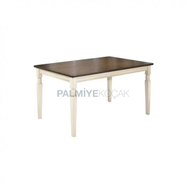 Wooden Table Colorful Avangard Table
