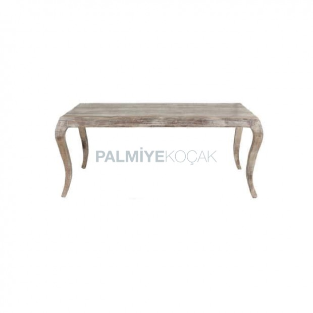 Avangart Masası Eskitme Patineli