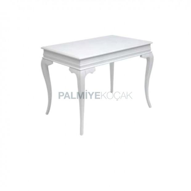 Rectangular White Painted Avangard Table