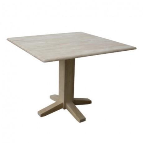 Kare Patineli Boyalı Cafe Masası - avg3038