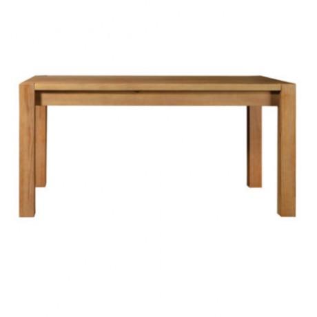 Meşe Boyalı Cafe Masası - avg3037