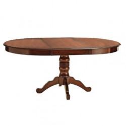 Avangard Table with Oval Turned Leg