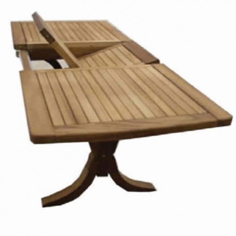 Dikdörtgen Ortadan Açılır Bahçe Masaları - ikm1306