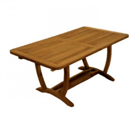 Iroko Hotel Garden Table - ikm1307