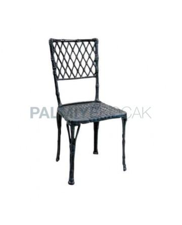 Baklava Sliced ??Aluminum Casting Chair