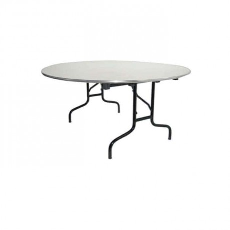 Aluminum Circle Framed Banquet Table