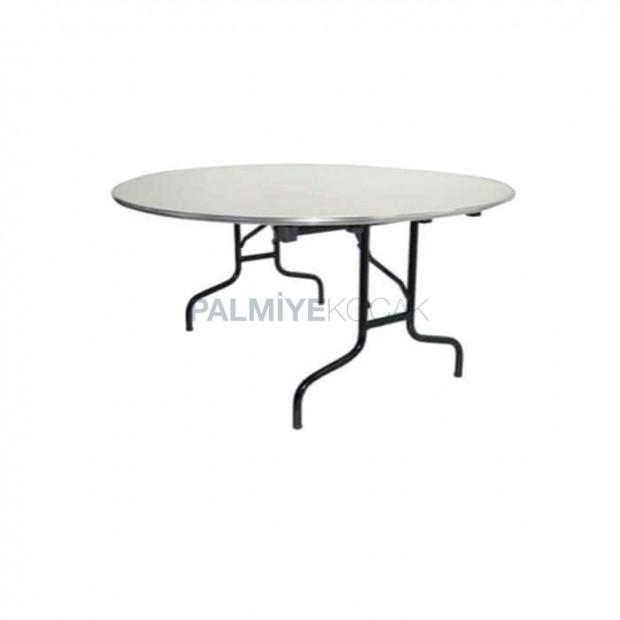 Aluminum Circle Framed Banquet Table