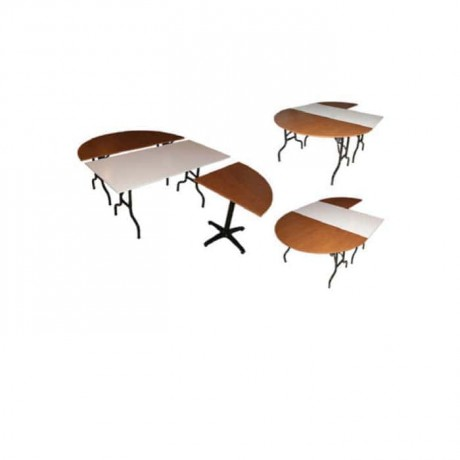 Oval Conference Banquet Table - bank15