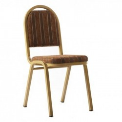 Golden Color Painted Hotel Chair
