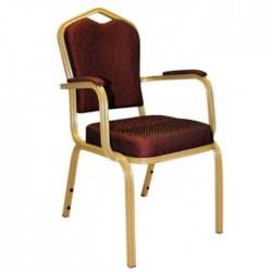 Aluminum Hilton Chair Armchair