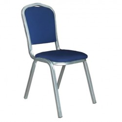 Gray Painted Banquet Chair