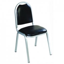 Gray Metal Conference Chair