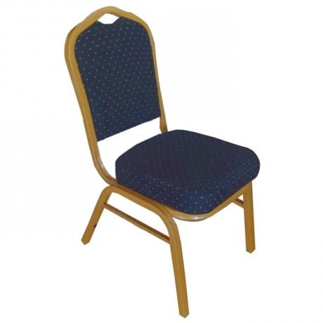 Kalın Süngerli Lüks Takviyeli Hilton Sandalye - has13