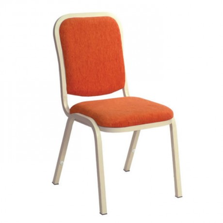 Square Backed Metal Hilton Chair - hts09