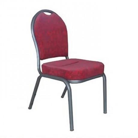Oval Sırtlı Alüminyum Hilton Sandalye - hts21