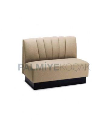 Beige Fabric Upholstered Loca