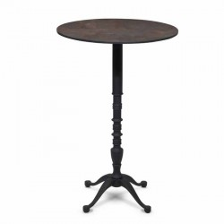 60x60 Bistro Table with Metal Legs