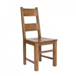 Pine Wooden Armless Garden Chair