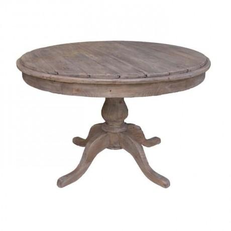 Rustik Yuvarlak Mutfak Masası - cmsa43