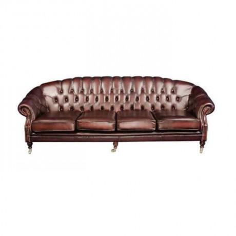 Deri Döşemeli Klasik Chester - chk4539