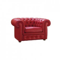 Red Leather Chester
