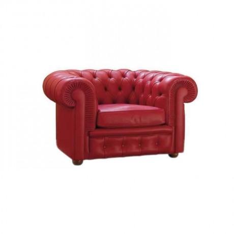 Kırmızı Derili Chester - b7542