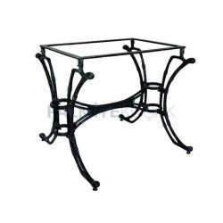 Iron Casting Rectangle Cafe Restaurant Hotel Table Leg