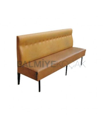 Leather Upholstered Canteen Booths