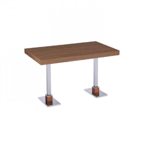 Wood Table Top Stainless Steel - mtd7514