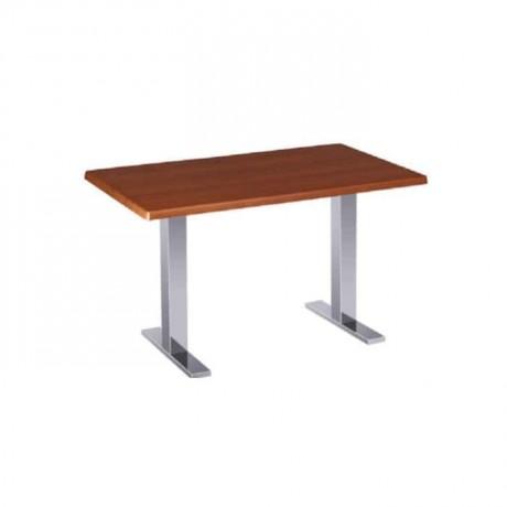 Hus Tablalı Metal Ayaklı Cafe Masası - mtd7509