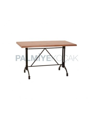 King Aluminum Leg Mdf Lam Table