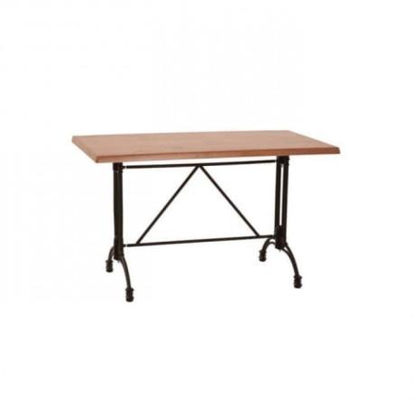 King Aluminum Leg Mdf Lam Table - mtd7521