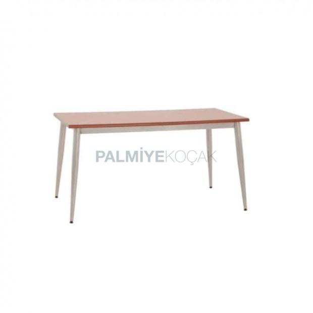 Chrome Four Leg Laminate Table Top Restaurant Table