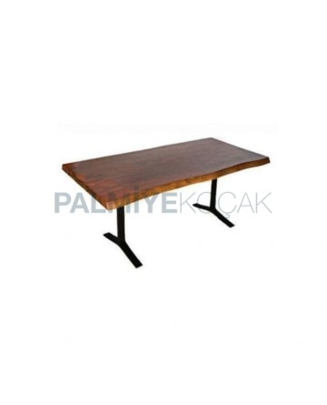 Metal Leg Billet Table
