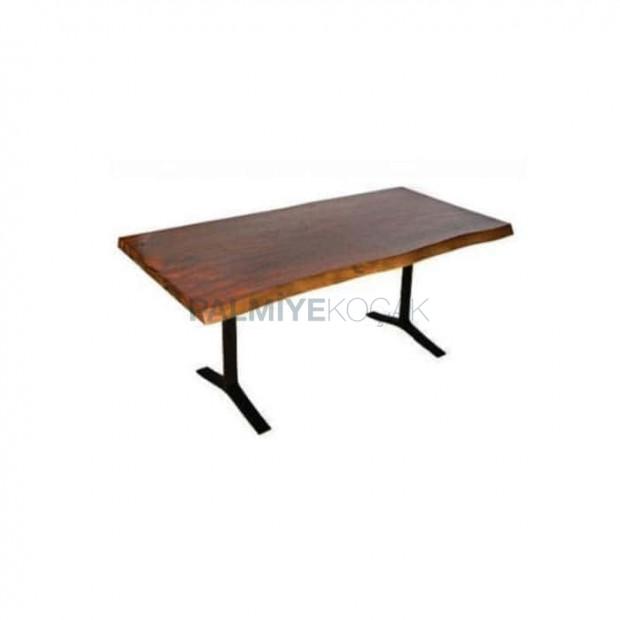 Metal Leg Billet Table