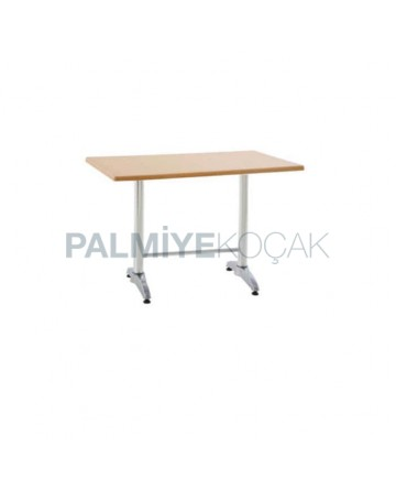Metal Leg Werzalit Table Top Cafe Table