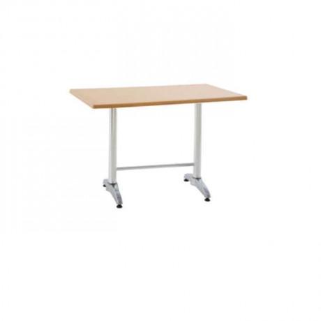 Metal Ayaklı Werzalit Tablalı Cafe masası - mtd7519