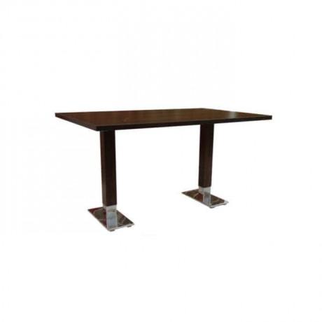 Metal Alkali Mdf Lam Table Top Cafe Table - mtd7518