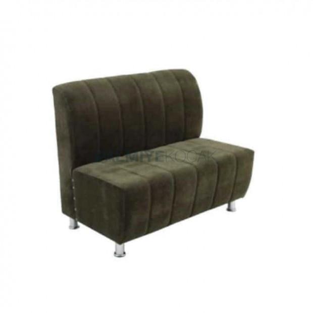 Sliced Upholstered Green Fabric Cedar