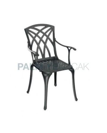 Outdoor Aluminum Casting Arm Chair