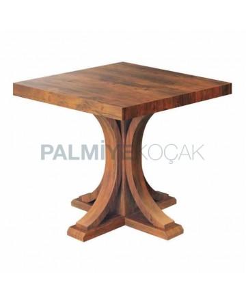 Membrane Cafe Table Natural Veneer