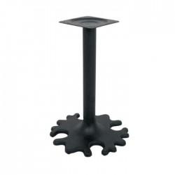 Flower-Patterned Iron Casting Table Leg