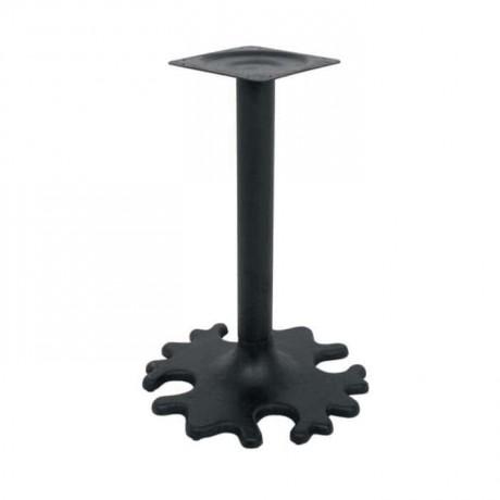 Çiçek Desenli Demir Döküm Masa Ayağı - grs3347