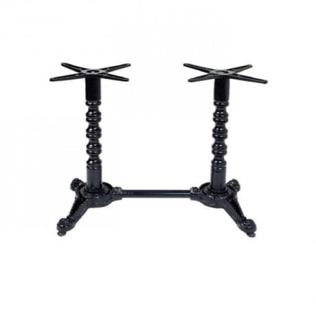 Double Aluminum Restaurant Hotel Cafe Table Casting Leg - grs3312