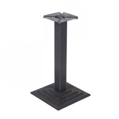 Kare Piramit Döküm Cafe Restoran Masa Ayağı - cm7084