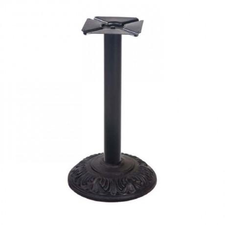 Oymalı Yuvarlak Döküm Masa Ayağı - cm7088