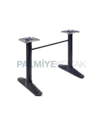Pyramid Double Metal Cast Leg